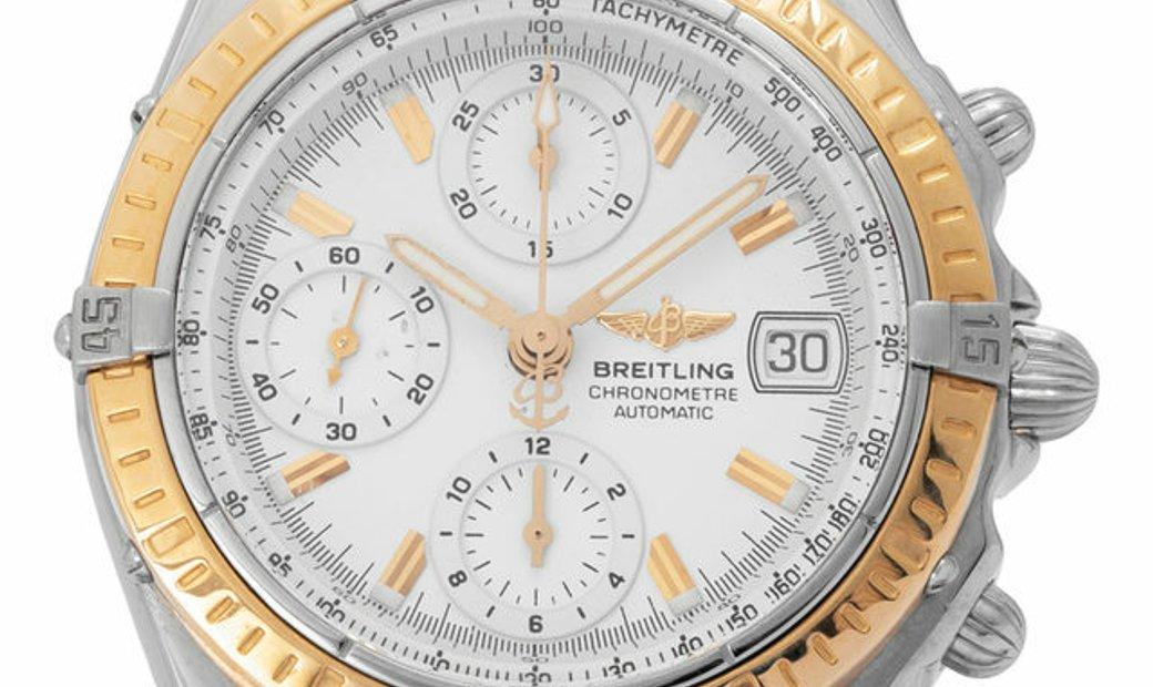 Breitling Chronomat D13352, Baton, 2001, Good, Case material Steel, Bracelet material: