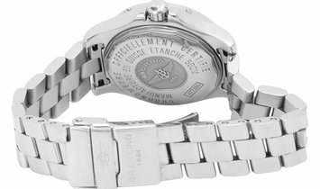 Breitling Colt Oceane A77380, Arabic Numerals, 2008, Good, Case material Steel, Bracele