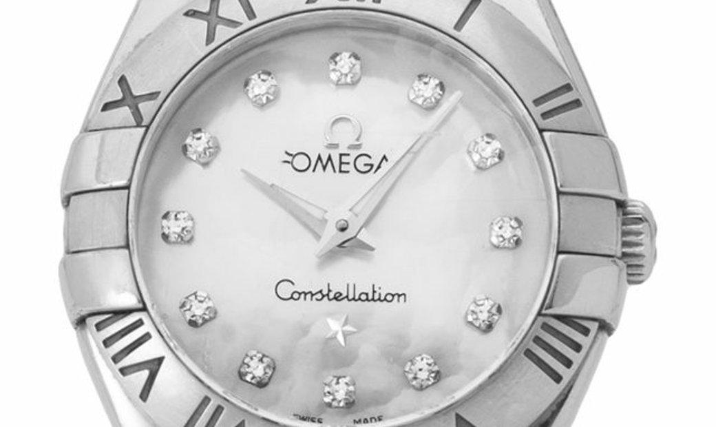 Omega Constellation Quartz 123.10.24.60.55.002, Baton, 2010, Very Good, Case material S