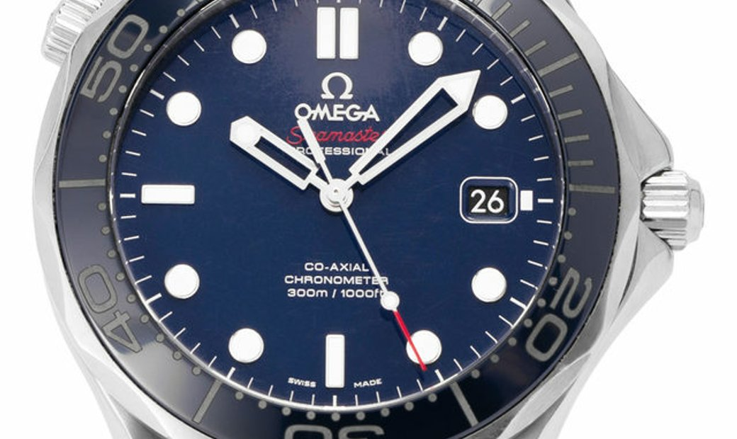 Omega Seamaster Diver 300 M 212.30.41.20.03.001, Baton, 2018, Good, Case material Steel
