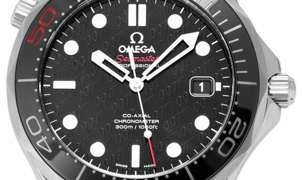 Omega Seamaster 50th Anniversary James Bond Limited Edition 212.30.41.20.01.005, Baton,