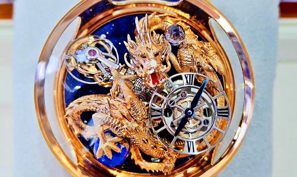 Jacob & Co. 捷克豹 [NEW] Astronomia Tourbillon Dragon AT112.40.BR.UC.A (Retail: CHF 1,000,000)