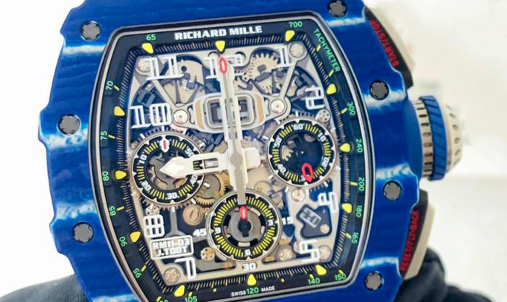 Richard Mille [2018 MINT][LIMITED 150 PIECE] RM 11-03 Jean Todt