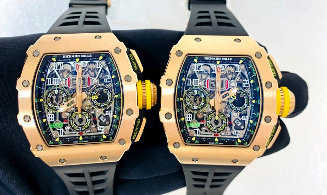 Richard Mille [2017 LIKE NEW] RM 11-03 FULL Rose Gold Automatic Flyback Chronograph Watch