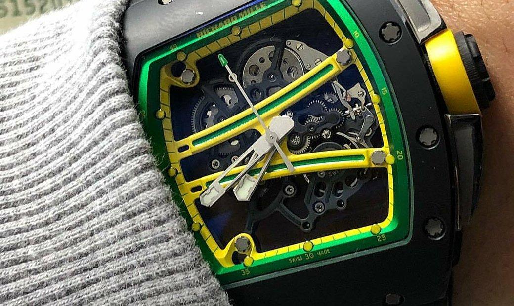Richard Mille [NEW] RM 61-01 Yohan Blake Black Ceramic Watch