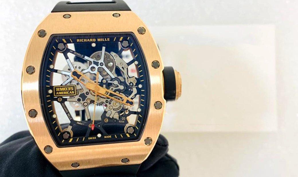 #RichardMille [LIMITED 50 PIECE] RM 035 Gold Toro Watch