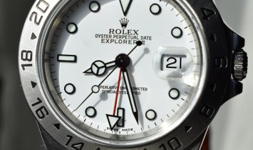 Rolex Explorer II GMT Polar White Dial