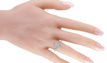 LB Exclusive LB Exclusive 14K White Gold 1.00 ct Diamond Ring