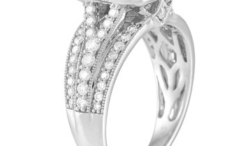 LB Exclusive LB Exclusive 14K White Gold 1.50 ct Diamond Ring