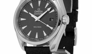 Omega Seamaster Aqua Terra 150 M Quartz 231.10.39.60.06.001, Baton, 2018, Very Good, Ca