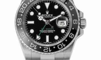 Rolex GMT-Master II 116710LN, Baton, 2016, Very Good, Case material Steel, Bracelet mat