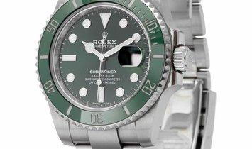 Rolex Submariner 116610LV, Baton, 2018, Very Good, Case material Steel, Bracelet materi