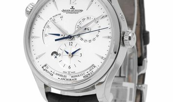 Jaeger-LeCoultre Master Geographic 1428421, Baton, 2016, Very Good, Case material Steel