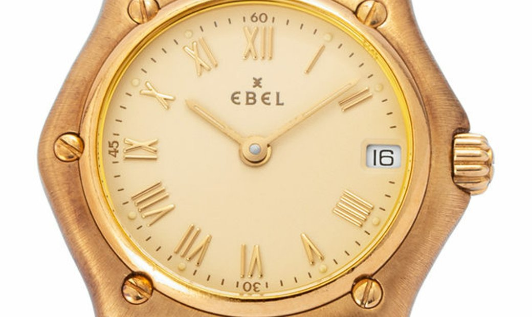 Ebel 1911 888901, Roman Numerals, 1997, Good, Case material Yellow Gold, Bracelet mater