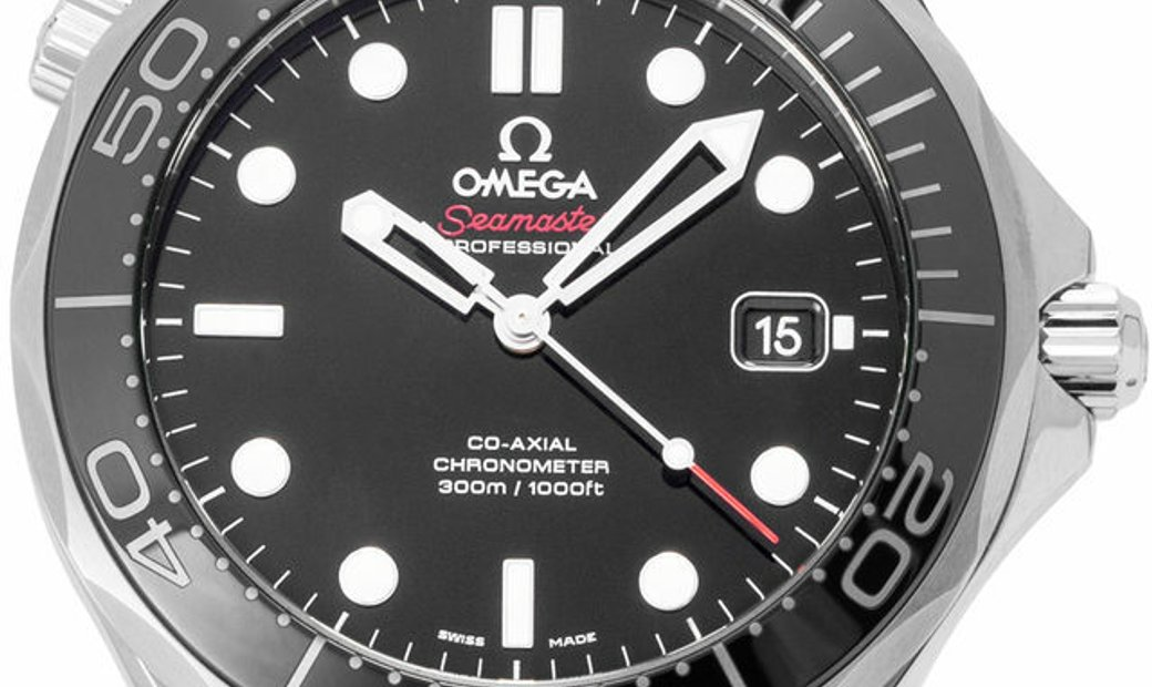 Omega Seamaster Diver 300 M 212.30.41.20.01.003, Baton, 2019, Very Good, Case material