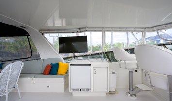 POWER PLAY 70' (21.34m) Hatteras Cockpit Motoryacht 1992