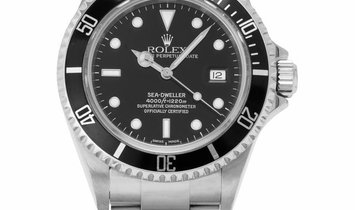 Rolex Sea-Dweller 16600, Baton, 2004, Very Good, Case material Steel, Bracelet material