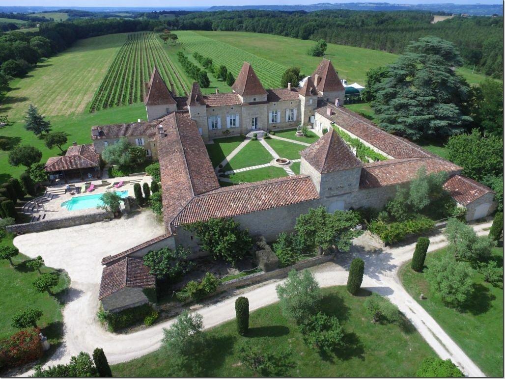 Chateau in Espiens, Nouvelle-Aquitaine, France 1