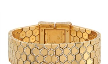 Van Cleef & Arpels Van Cleef & Arpels Vintage 18K Yellow Gold and Diamond Watch