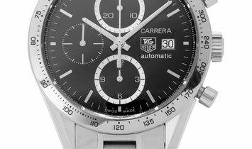 TAG Heuer Carrera CV2016.BA0794, Baton, 2005, Very Good, Case material Steel, Bracelet