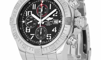 Breitling Super Avenger II A1337111.BC28.168A, Arabic Numerals, 2018, Very Good, Case m