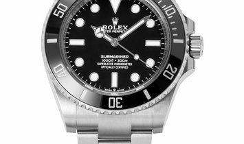Rolex Submariner 124060, Baton, 2020, Unworn, Case material Steel, Bracelet material: S