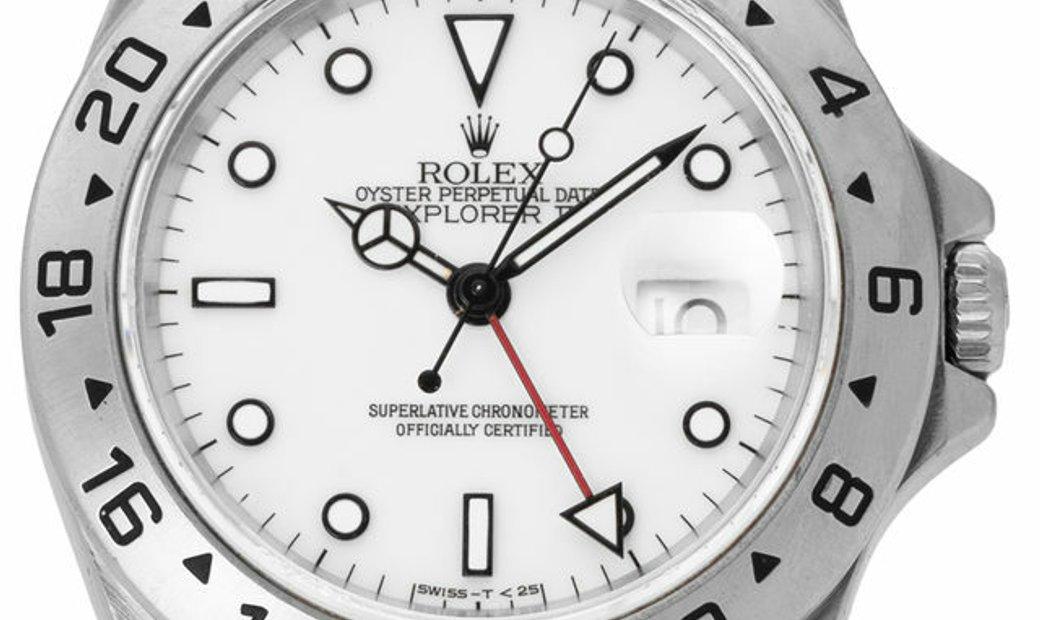 Rolex Explorer II 16570, Baton, 1997, Used, Case material Steel, Bracelet material: Ste