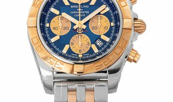 Breitling Chronomat 44 CB0110121C1C1, Baton, 2019, Very Good, Case material Yellow Gold