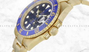Rolex Submariner 126618LB-0002 Yellow Gold Blue Ceramic Bezel Royal Blue Dial