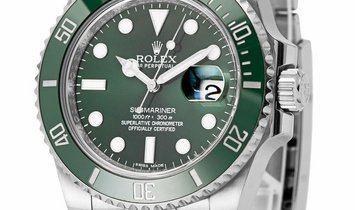 Rolex Submariner 116610LV, Baton, 2010, Very Good, Case material Steel, Bracelet materi