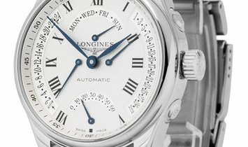Longines Master Collection L2.717.4, Roman Numerals, 2018, Very Good, Case material Ste