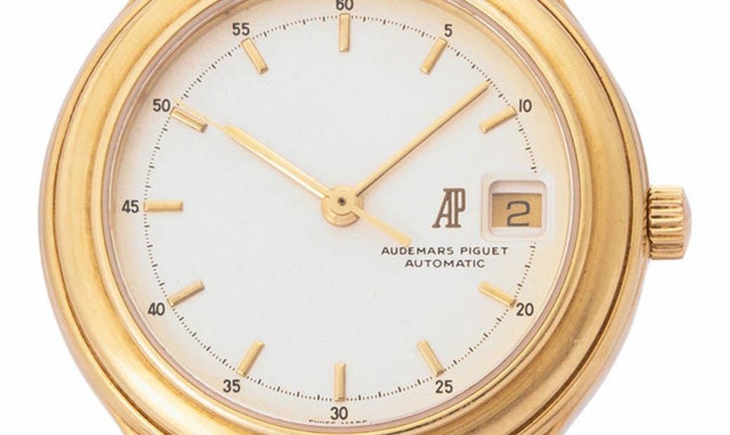 Audemars Piguet Huitieme Cal. 2131 , Baton, 1990, Good, Case material Yellow Gold, Brac