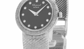 Chopard Geneve Vintage, Diamonds, 1975, Used, Case material White Gold, Bracelet materi
