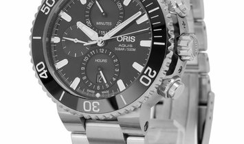 Oris Aquis Chronograph 01 774 7743 4155-07 8 24 05PEB, Baton, 2019, Very Good, Case mat