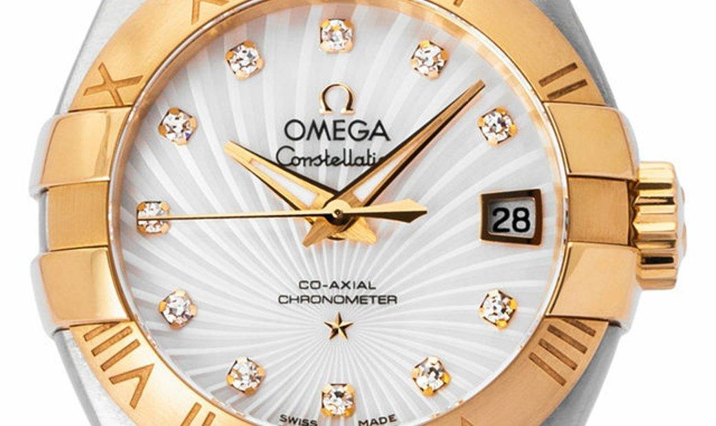 Omega Constellation 123.20.27.20.55.002, Baton, 2020, Very Good, Case material Steel, B
