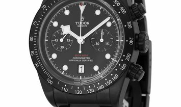 Tudor Black Bay Chrono Dark  79360DK, Baton, 2019, Very Good, Case material Steel, Brac