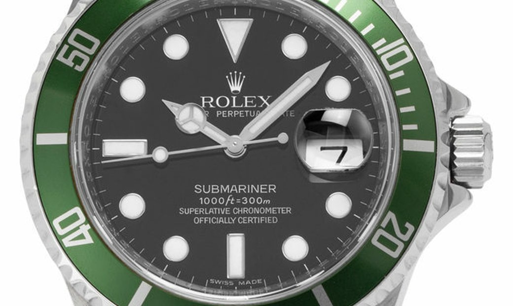 Rolex Submariner 16610LV, Baton, 2009, Good, Case material Steel, Bracelet material: St