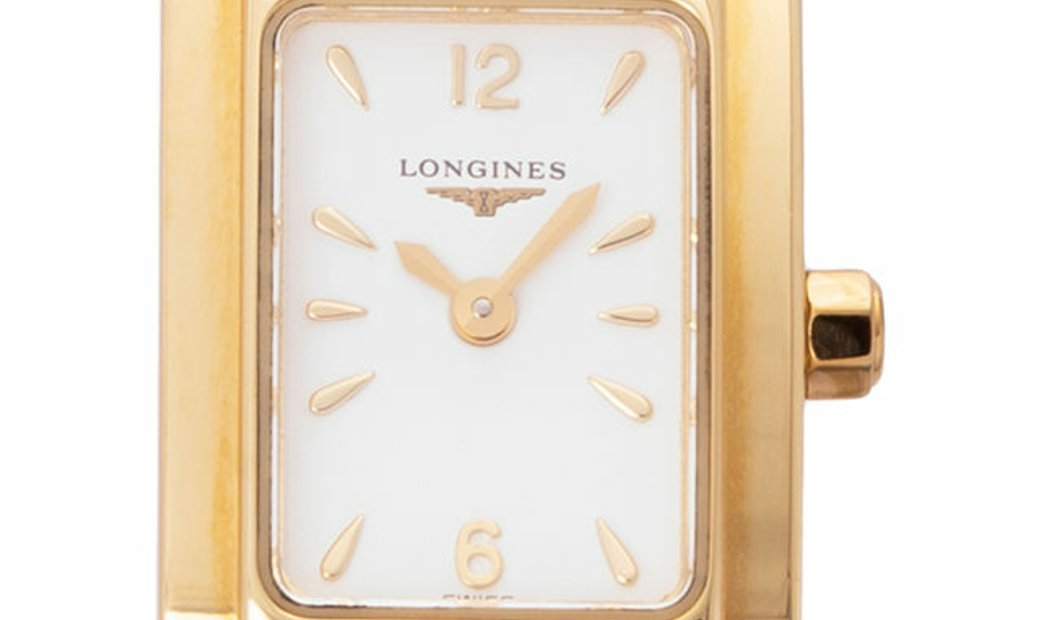 Longines Dolce Vita L5.158.6.16.6, Baton, 2013, Very Good, Case material Yellow Gold, B