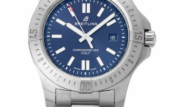 Breitling Colt Automatic 44 A17388101C1A1, Baton, 2019, Very Good, Case material Steel,