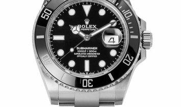 Rolex Submariner 126610LN, Baton, 2020, Unworn, Case material Steel, Bracelet material: