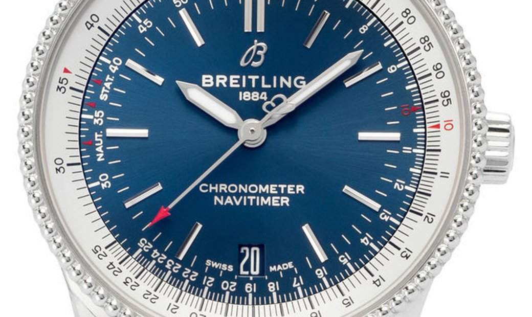 Breitling Navitimer 1 Automatic 38 A17325211C1P1, Baton, 2020, Very Good, Case material