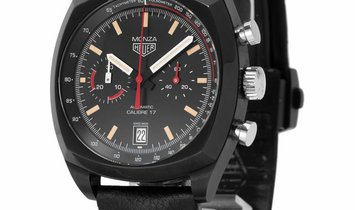 TAG Heuer Monza CR2080.FC6375, Baton, 2017, Good, Case material Titanium, Bracelet mate