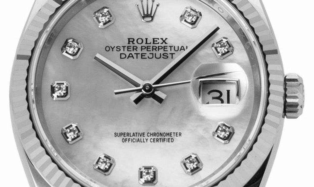 Rolex Datejust 126234, Baton, 2020, Very Good, Case material Steel, Bracelet material:
