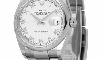 Rolex Datejust 126200, Roman Numerals, 2020, Very Good, Case material Steel, Bracelet m