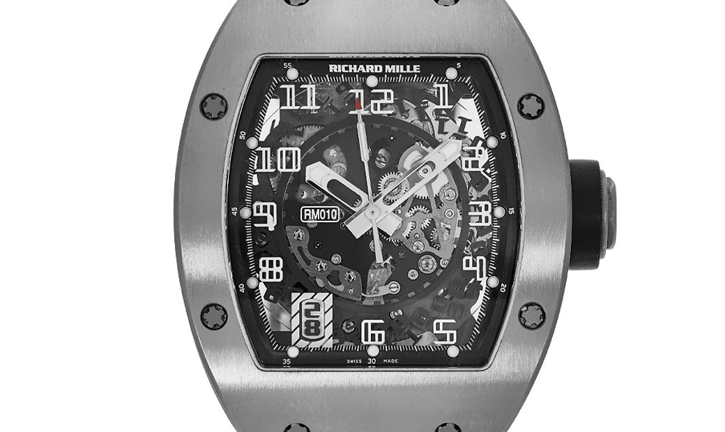 Richard Mille RM010 Skeletonised Automatic White Gold Watch