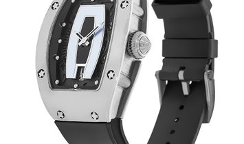 Richard Mille White Gold Skeleton Dial Watch RM007