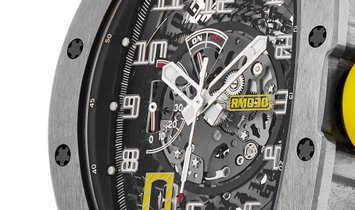 Rchard Mille RM030 Titanium Automatic with Declutchable Rotor Watch RM030