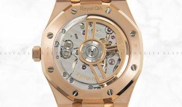 Audemars Piguet Royal Oak 15500OR.OO.D002CR.01 Pink Gold Black Dial
