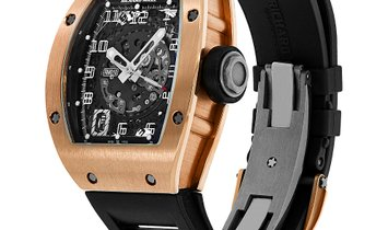 Richard Mille RM010 Skeletonised Automatic Rose Gold Watch RM010