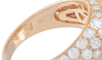 Bvlgari Bvlgari Divas' Dream 18K Rose Gold 3.20 ct Diamond Ring